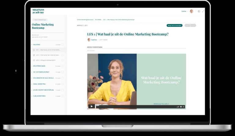online-marketing-bootcamp-leeromgeving-laptop